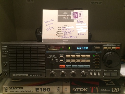 phoyos QSL Radio For Peace International RFPI