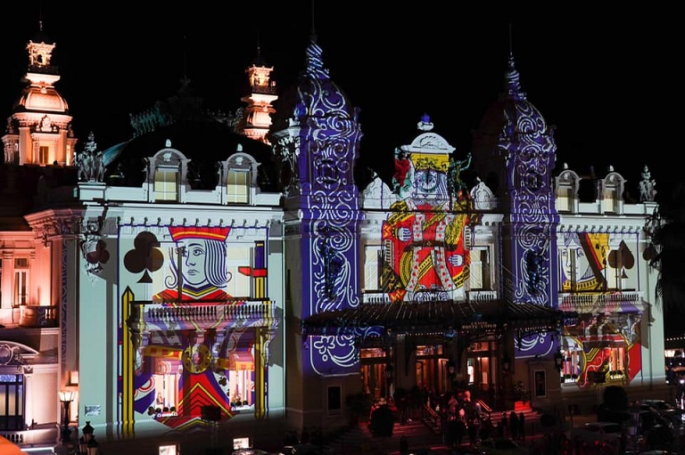 Casino de Monaco illumin pour le rveillon saint Sylvestre 3 Radio For Peace International