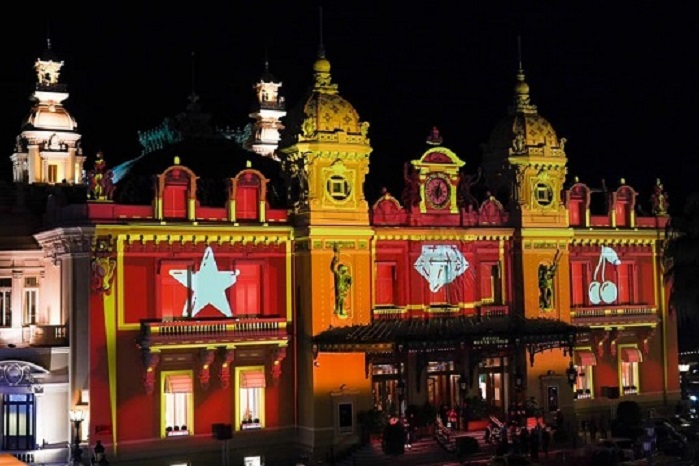 Casino de Monaco illumin pour le rveillon saint sylvestre Radio For Peace International
