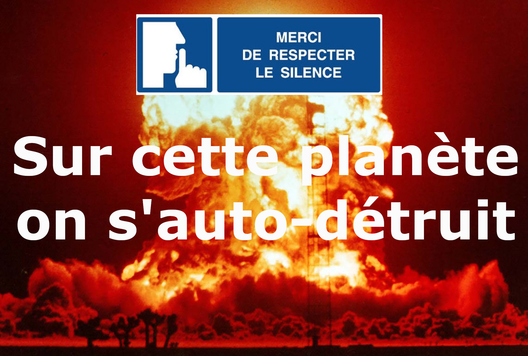 Le désarmement nucléaire-Bombe atomique-Radio For Peace International RFPI